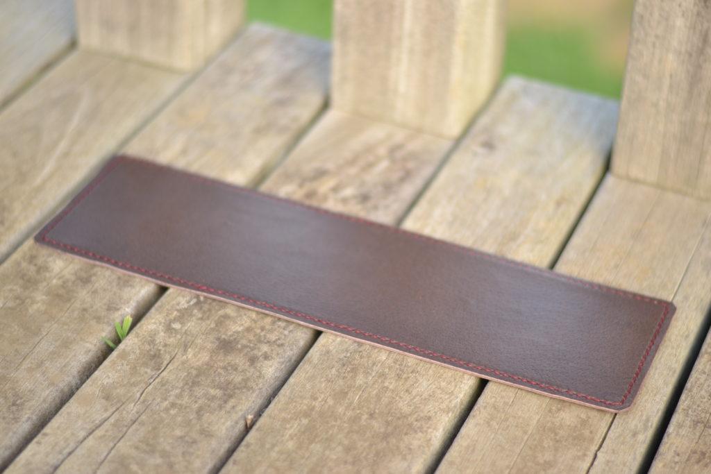 A4横型トート【Start】の革張りの底板
