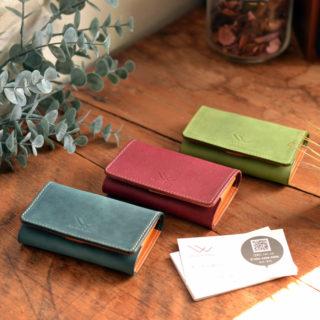 フルーツカラーのカードケース(名刺入れ)type301(全3色)