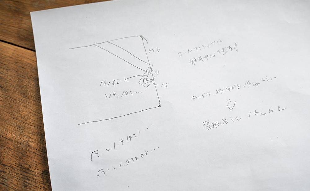 数式で財布の構造を求めたメモ